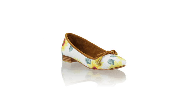 Leather-shoes-Noemi 20mm Ballet - Sun Flower-flats ballet-NILUH DJELANTIK-NILUH DJELANTIK