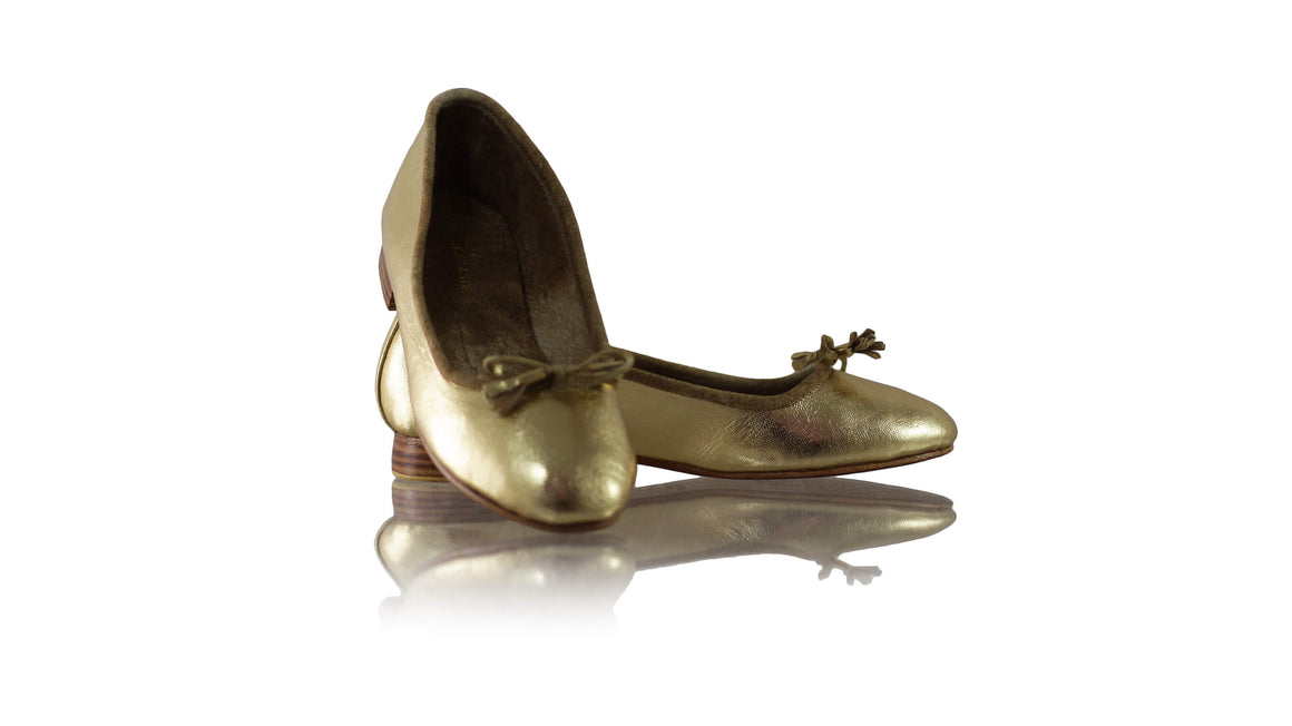 Leather-shoes-Noemi 20mm Ballet - Gold-flats ballet-NILUH DJELANTIK-NILUH DJELANTIK