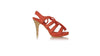 leather shoes Palmi PF 115mm Skinny Heels Coral Suede, sandals higheel , NILUH DJELANTIK - 1