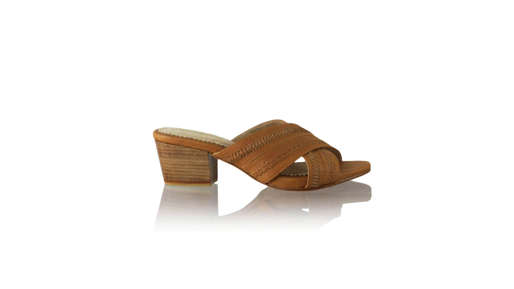 Leather-shoes-Paramita 50mm WH - Light Brown Camel-sandals midheel-NILUH DJELANTIK-NILUH DJELANTIK