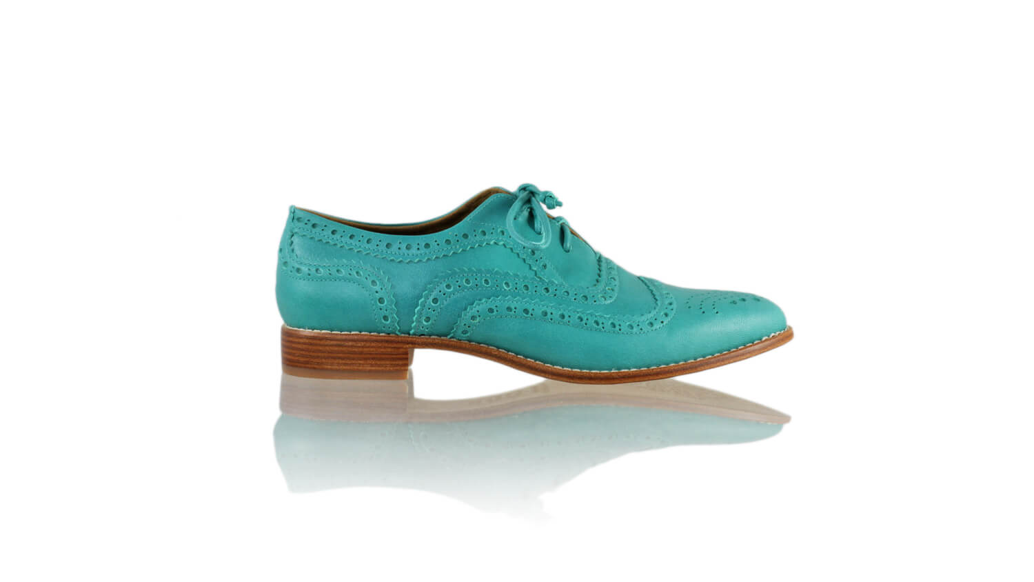Leather-shoes-Pedro 25mm Flat - Dark Aqua-flats laceup-NILUH DJELANTIK-NILUH DJELANTIK