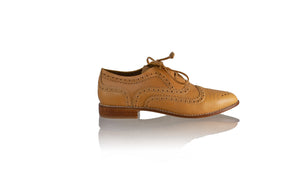 Leather-shoes-Pedro 25mm - Tan-flats laceup-NILUH DJELANTIK-NILUH DJELANTIK