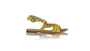 Leather-shoes-Peru Flats 20mm - Yellow-sandals flat-NILUH DJELANTIK-NILUH DJELANTIK