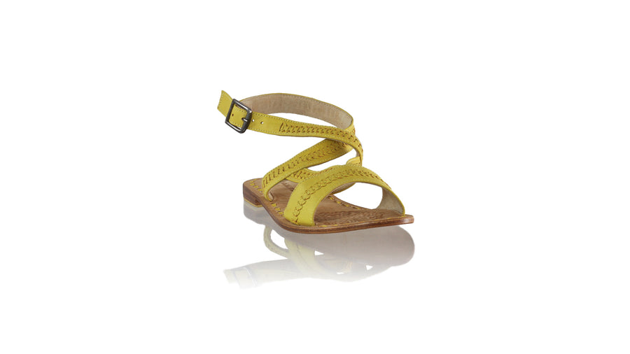 Leather-shoes-Peru 20mm Flat - Yellow-sandals flat-NILUH DJELANTIK-NILUH DJELANTIK