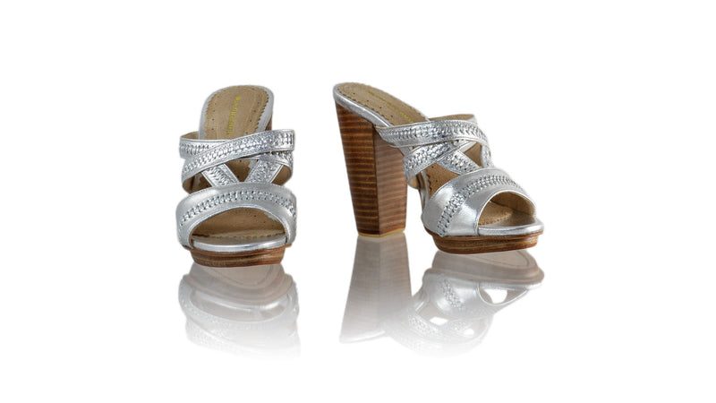 Leather-shoes-Peru Without Strap 110mm WH PF - Silver-sandals higheel-NILUH DJELANTIK-NILUH DJELANTIK