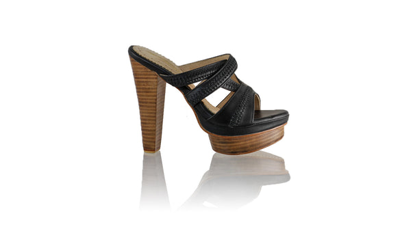 Leather-shoes-Peru Without Strap 140mm WH PF - Black-sandals higheel-NILUH DJELANTIK-NILUH DJELANTIK