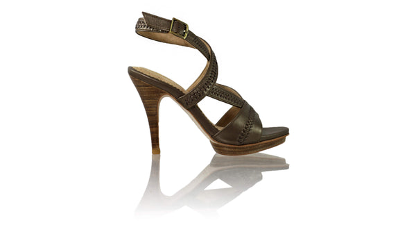 Leather-shoes-Peru 115mm SH PF - Bronze-sandals higheel-NILUH DJELANTIK-NILUH DJELANTIK