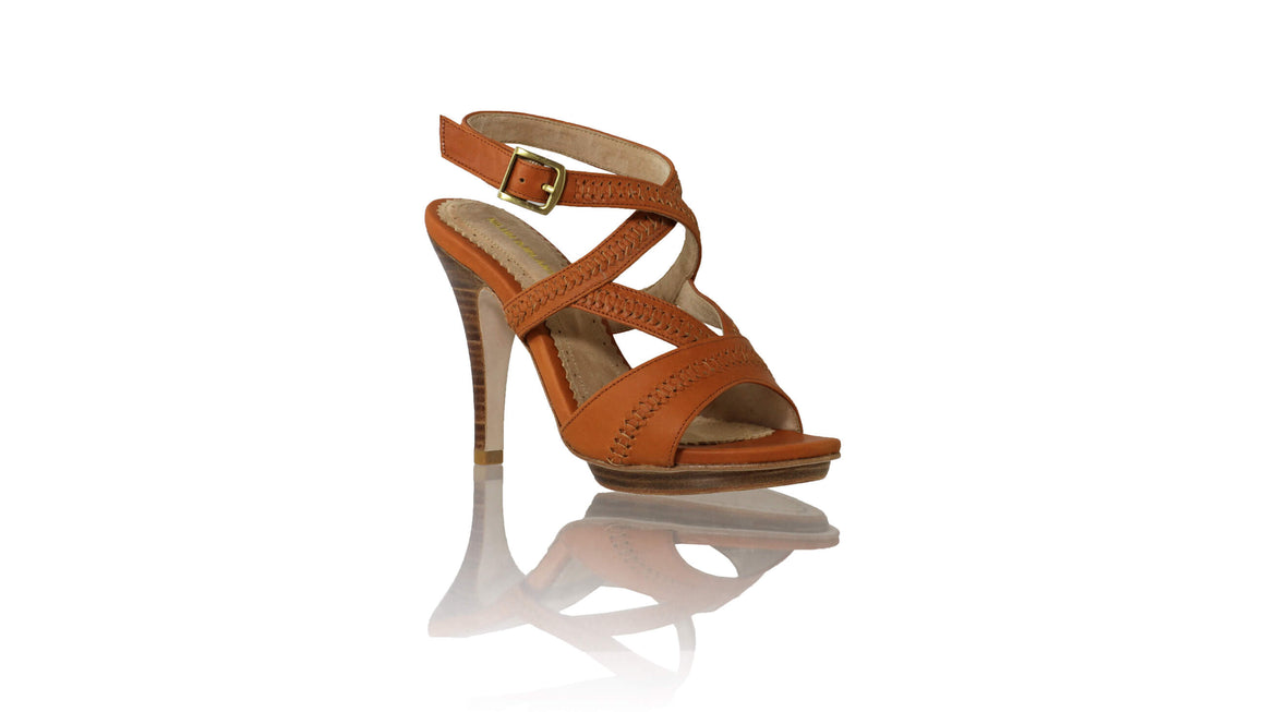Leather-shoes-Peru PF 115mm SH - Camel-sandals higheel-NILUH DJELANTIK-NILUH DJELANTIK