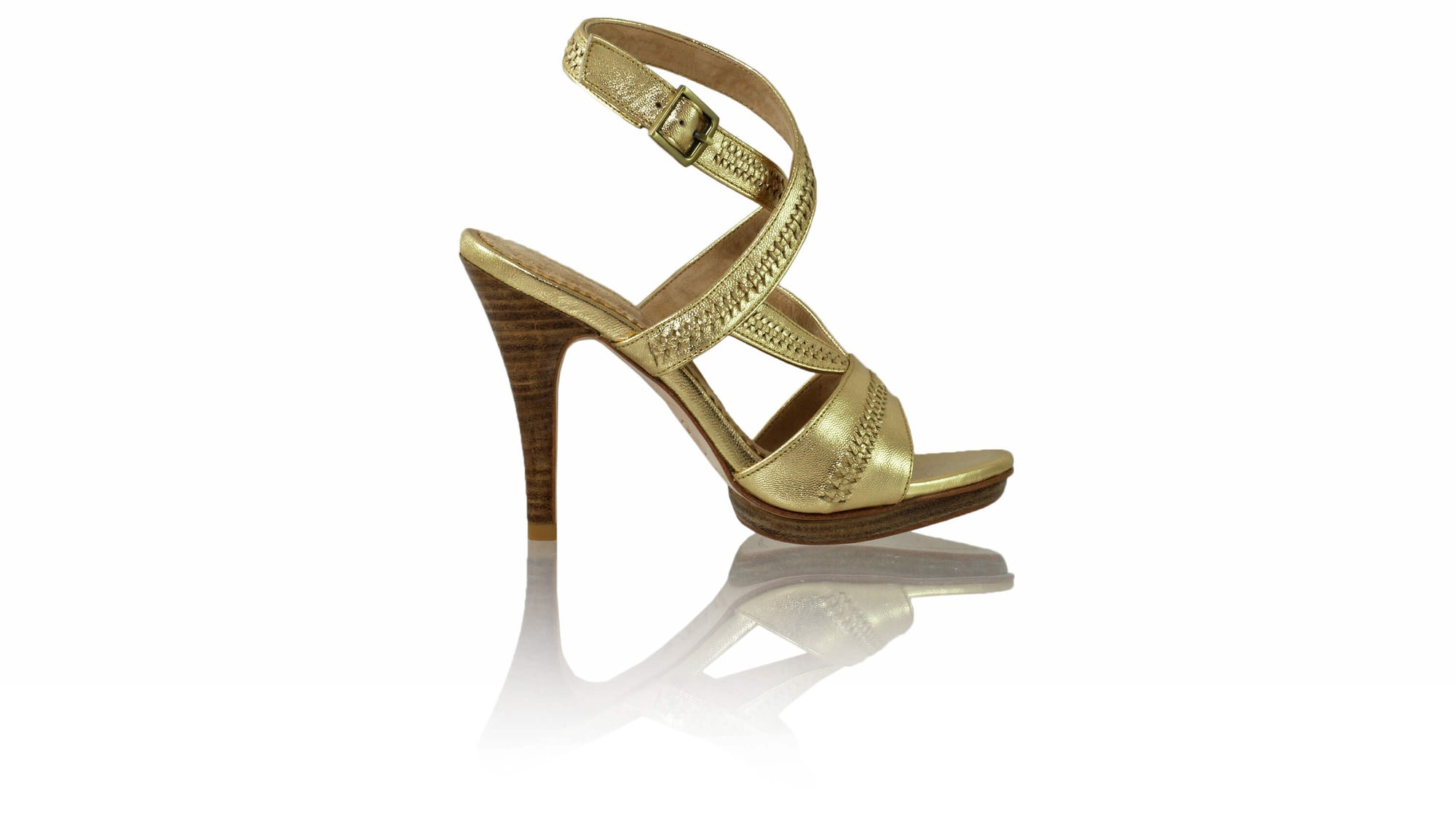 Leather-shoes-Peru 115mm SH PF - Gold-sandals higheel-NILUH DJELANTIK-NILUH DJELANTIK