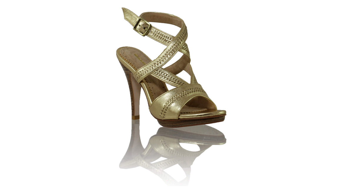 Leather-shoes-Peru PF 115mm SH - Gold-sandals higheel-NILUH DJELANTIK-NILUH DJELANTIK