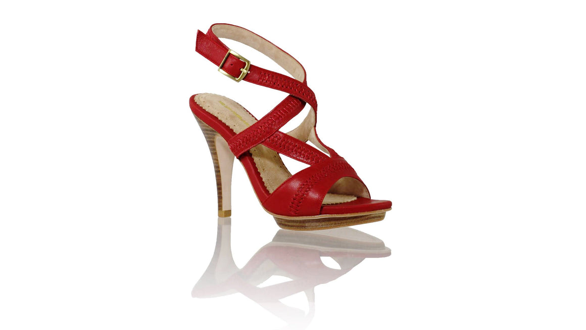 Leather-shoes-Peru PF 115mm SH - Red-sandals higheel-NILUH DJELANTIK-NILUH DJELANTIK
