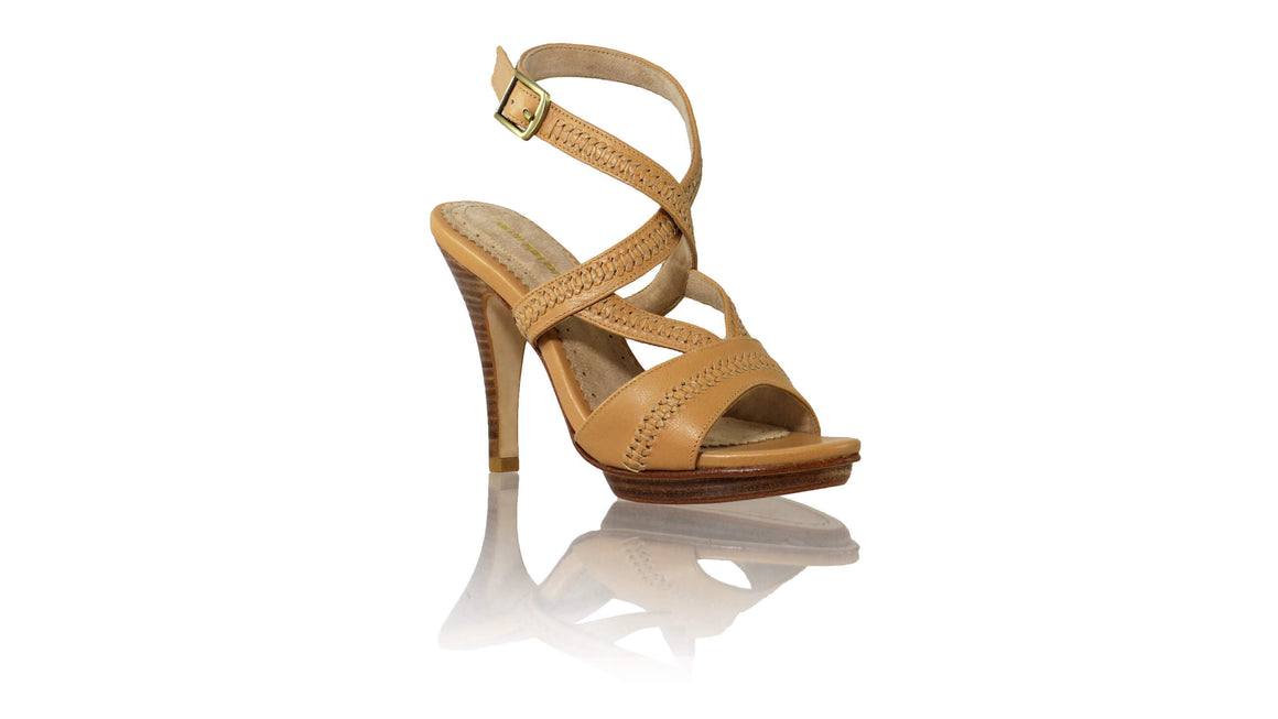 Leather-shoes-Peru PF 115mm SH - Tan-sandals higheel-NILUH DJELANTIK-NILUH DJELANTIK