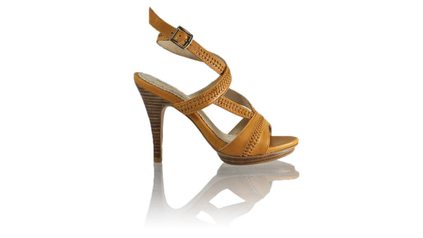 Leather-shoes-Peru 115mm SH PF - Camel-sandals higheel-NILUH DJELANTIK-NILUH DJELANTIK