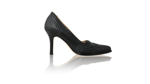 Leather-shoes-Princess 90mm SH 2 - Black-pumps highheel-NILUH DJELANTIK-NILUH DJELANTIK