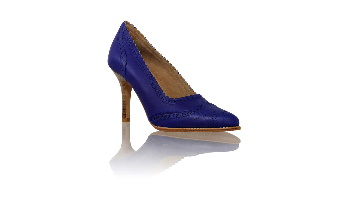 Leather-shoes-Princess 90mm SH - Royal Blue-pumps highheel-NILUH DJELANTIK-NILUH DJELANTIK