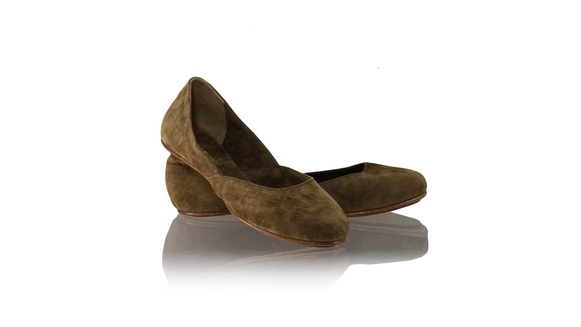 Leather-shoes-Punjab 5mm Ballet - Brown Suede-flats ballet-NILUH DJELANTIK-NILUH DJELANTIK