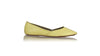 leather shoes Punjab ballet flats - Yellow, flats ballet , NILUH DJELANTIK - 1