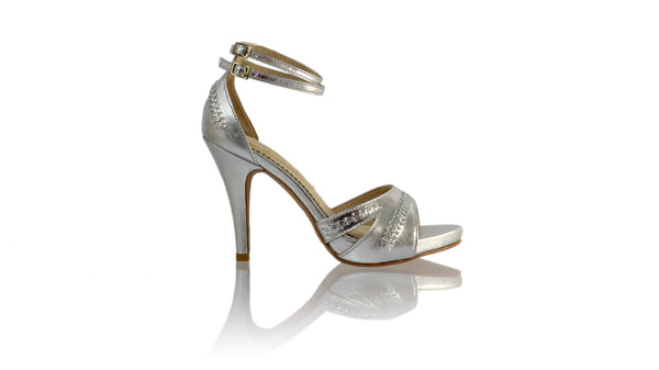Leather-shoes-Rin 115mm SH-01 PF - Silver-pumps highheel-NILUH DJELANTIK-NILUH DJELANTIK