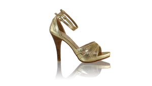 Leather-shoes-Rin SH PF 115mm - Gold-pumps highheel-NILUH DJELANTIK-NILUH DJELANTIK