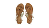 Leather-shoes-Romance 20mm Flat- All Brown BKK-sandals flat-NILUH DJELANTIK-NILUH DJELANTIK