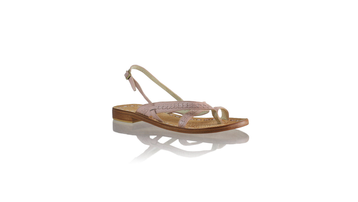 Leather-shoes-Romance 20mm - All Soft Pink BKK-sandals flat-NILUH DJELANTIK-NILUH DJELANTIK