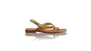 Leather-shoes-Romance 20mm - All Tan-sandals flat-NILUH DJELANTIK-NILUH DJELANTIK