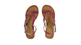 Leather-shoes-Romance 20mm Flat - All Fuschia BKK-sandals flat-NILUH DJELANTIK-NILUH DJELANTIK