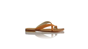 Leather-shoes-Romance Without Strap 20mm - All Tan-sandals flat-NILUH DJELANTIK-NILUH DJELANTIK