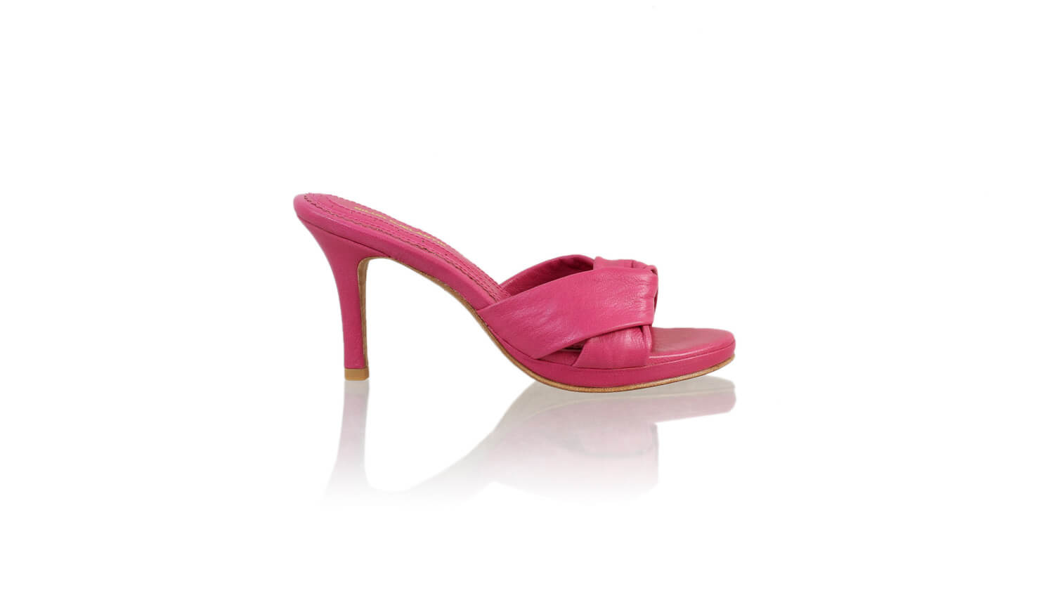 Leather-shoes-Sally 90mm SH-01 PF - Fuschia-sandals higheel-NILUH DJELANTIK-NILUH DJELANTIK