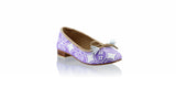 Leather-shoes-Sasha 20mm Ballet - Purple Batik Motif Ceplokan-flats ballet-NILUH DJELANTIK-NILUH DJELANTIK
