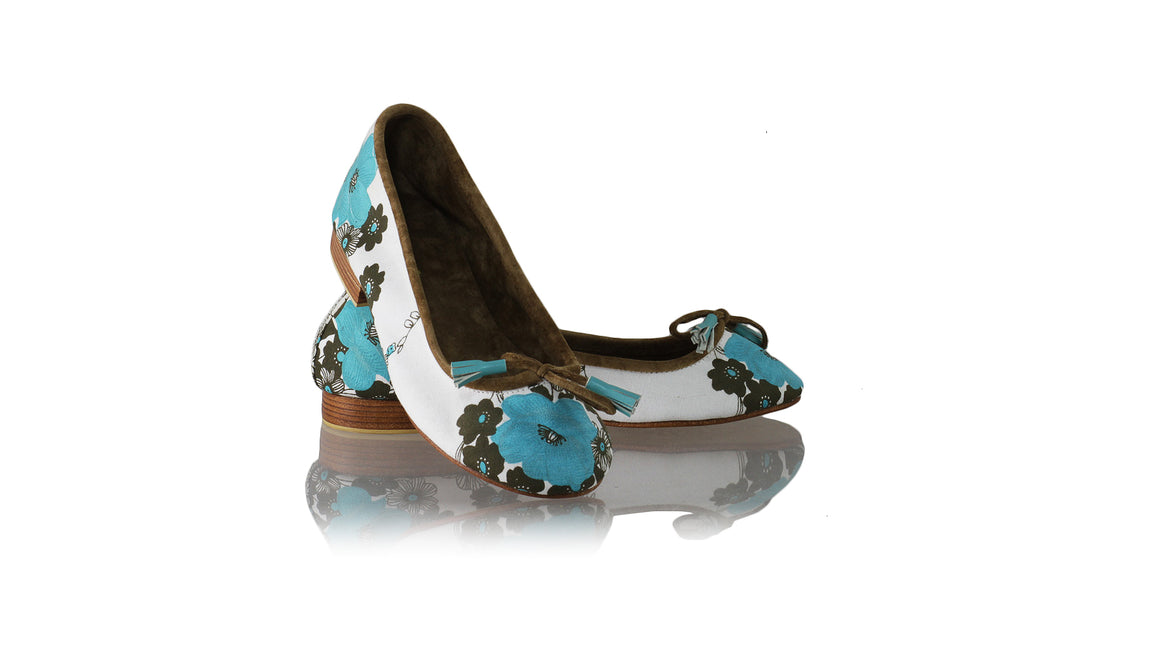 Leather-shoes-Sasha 20mm Ballet - Blue Flower Canvas-flats ballet-NILUH DJELANTIK-NILUH DJELANTIK