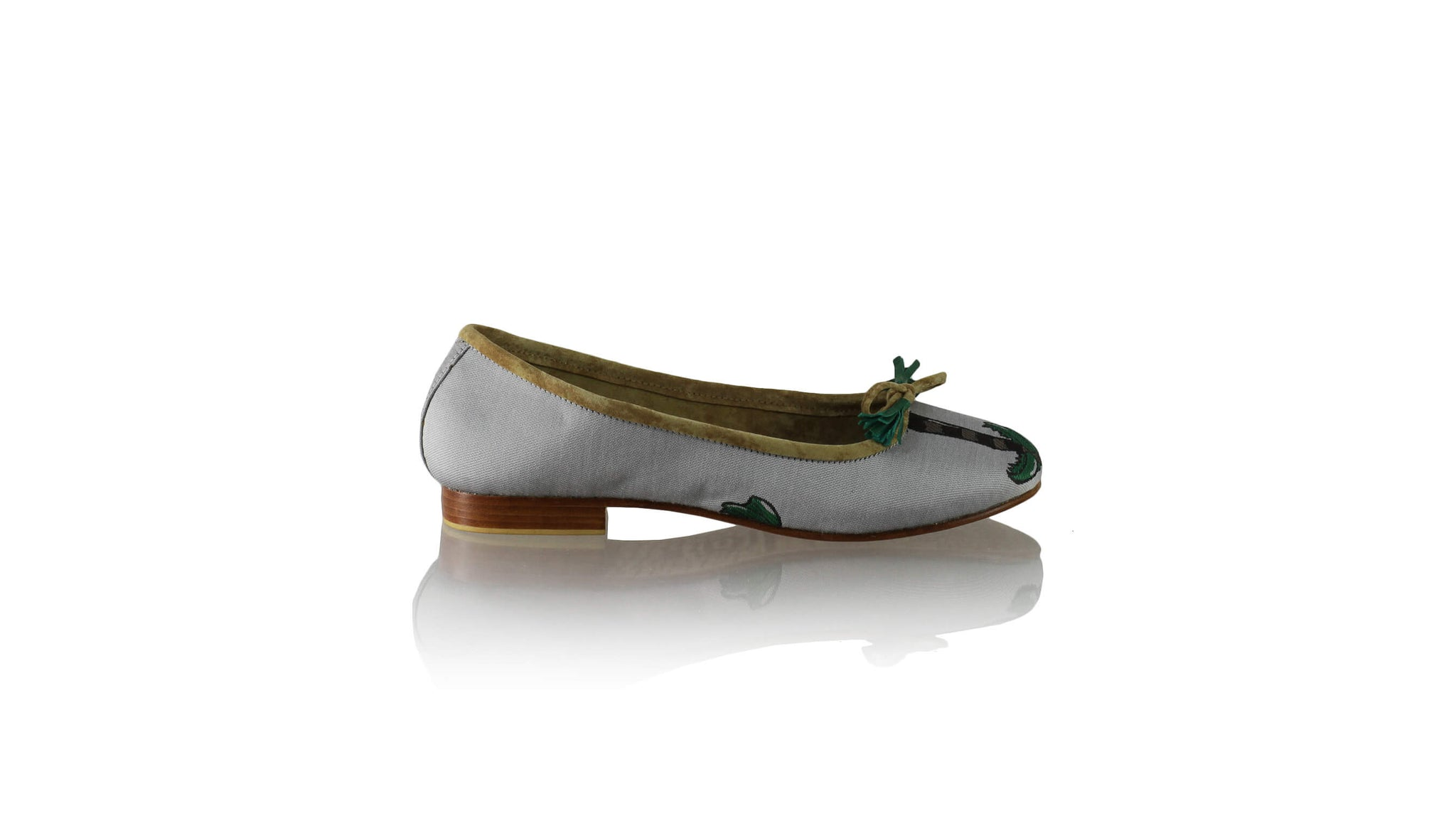 Leather-shoes-Sasha 20mm Ballet - Grey Coconut-flats ballet-NILUH DJELANTIK-NILUH DJELANTIK
