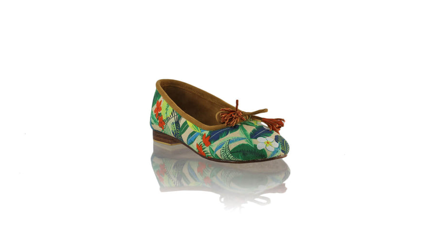 Leather-shoes-Sasha 20mm Ballet - Multicolour Forest-flats ballet-NILUH DJELANTIK-NILUH DJELANTIK