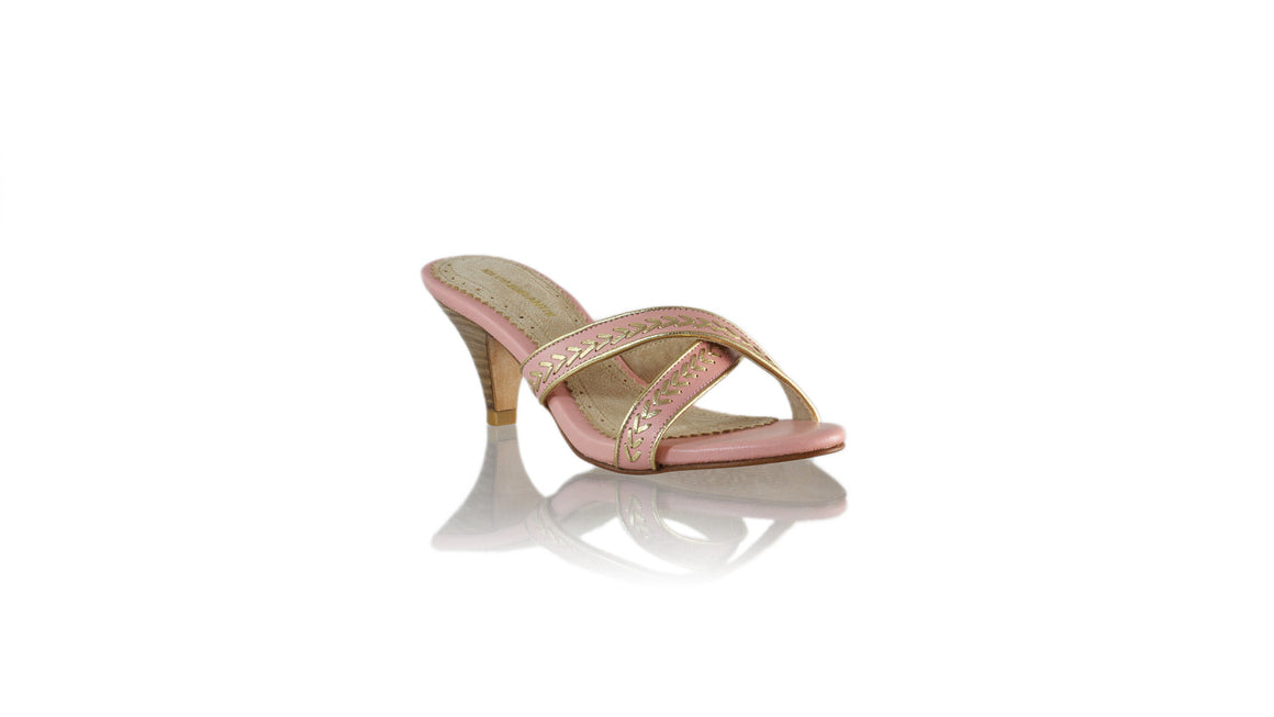 Leather-shoes-Shenoa SH 70mm - Soft Pink-sandals midheel-NILUH DJELANTIK-NILUH DJELANTIK