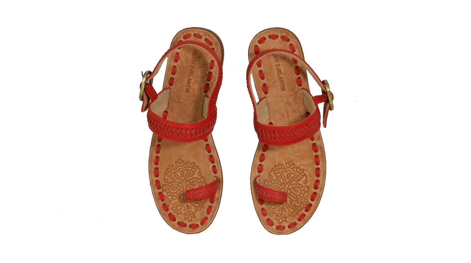Leather-shoes-Sigi 20mm Flat - Red-sandals flat-NILUH DJELANTIK-NILUH DJELANTIK