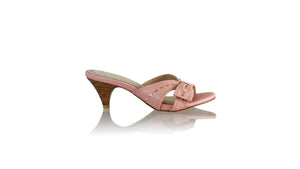 Leather-shoes-Sri SH 70mm - Soft Pink & Gold-sandals midheel-NILUH DJELANTIK-NILUH DJELANTIK