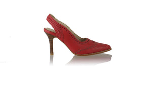 Leather-shoes-Veronika 90mm SH Red-pumps highheel-NILUH DJELANTIK-NILUH DJELANTIK