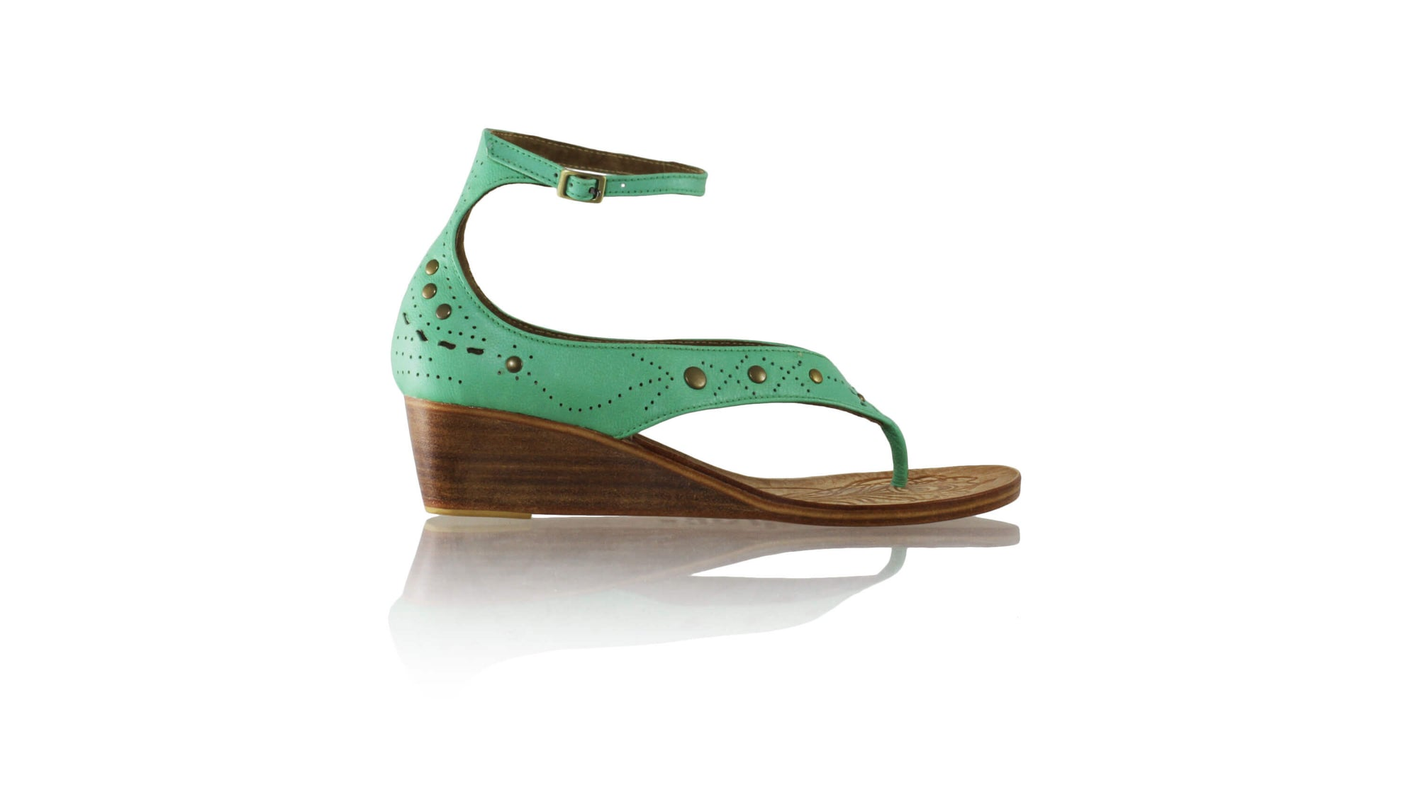 Leather-shoes-Miranda 35mm Wedge - Aqua-sandals wedges-NILUH DJELANTIK-NILUH DJELANTIK