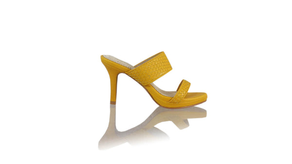 Leather-shoes-Maria 90MM SH-01 PF - Yellow-sandals higheel-NILUH DJELANTIK-NILUH DJELANTIK
