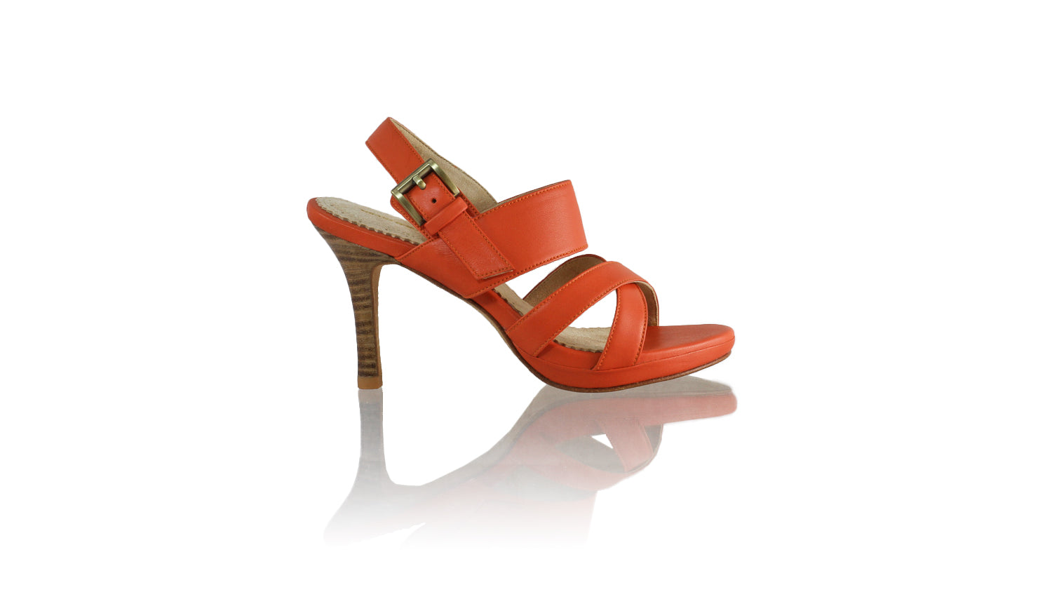 Leather-shoes-Tabitha 90mm SH PF - Orange-sandals higheel-NILUH DJELANTIK-NILUH DJELANTIK