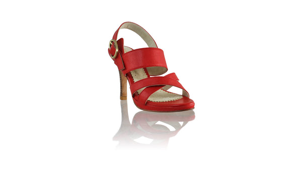 Leather-shoes-Tabitha 90mm SH PF - Red-sandals higheel-NILUH DJELANTIK-NILUH DJELANTIK