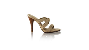 Leather-shoes-Tamie 115mm SH - Nude Python-sandals higheel-NILUH DJELANTIK-NILUH DJELANTIK