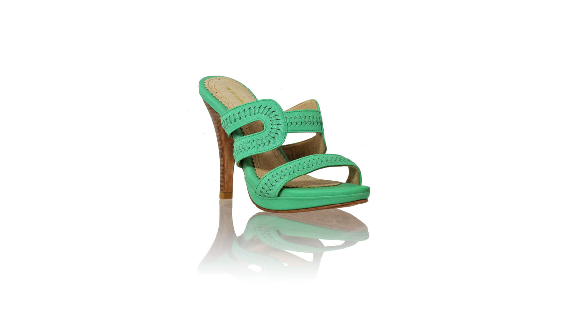 Leather-shoes-Tamie PF 115mm SH - Aqua-sandals higheel-NILUH DJELANTIK-NILUH DJELANTIK