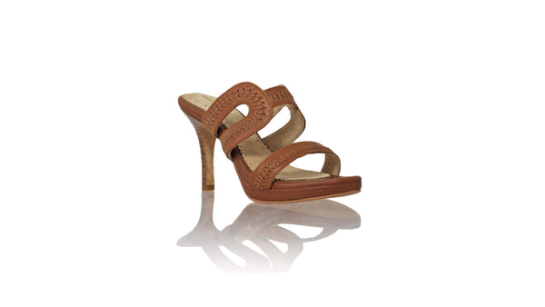 Leather-shoes-Tamie 115mm SH PF - Brown-sandals higheel-NILUH DJELANTIK-NILUH DJELANTIK
