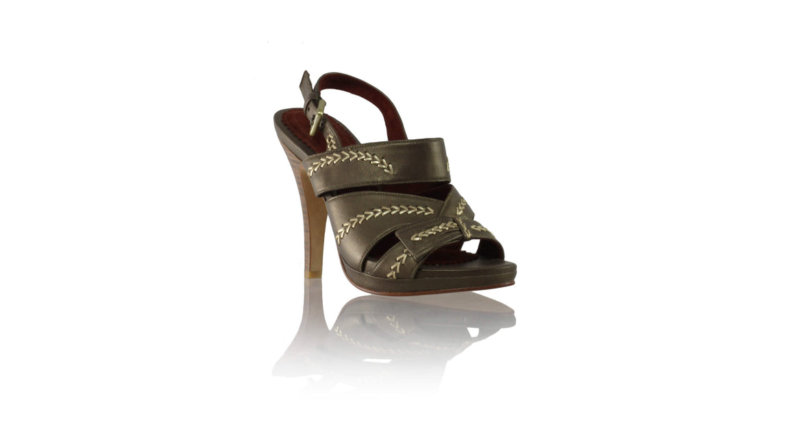 Leather-shoes-Tricia PF 115mm SH - Bronze & Gold-sandals higheel-NILUH DJELANTIK-NILUH DJELANTIK