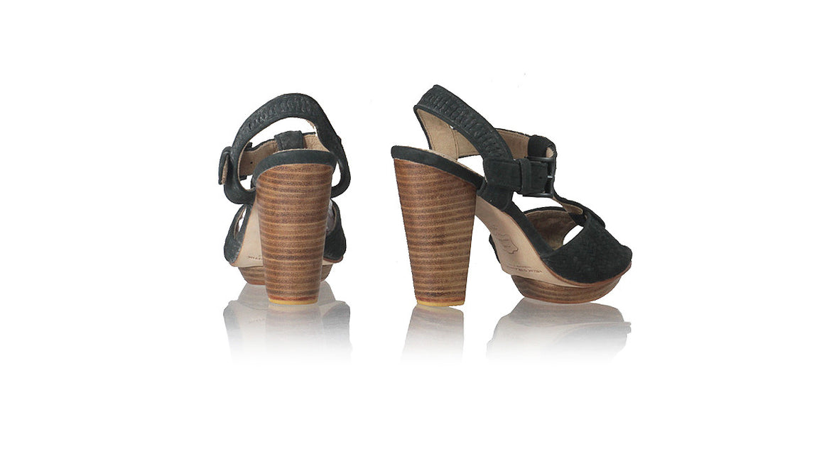 Leather-shoes-Vegas PF 115mm WH - Black-sandals higheel-NILUH DJELANTIK-NILUH DJELANTIK