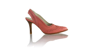 Leather-shoes-Veronika SH 90mm - Salmon Pink-pumps highheel-NILUH DJELANTIK-NILUH DJELANTIK