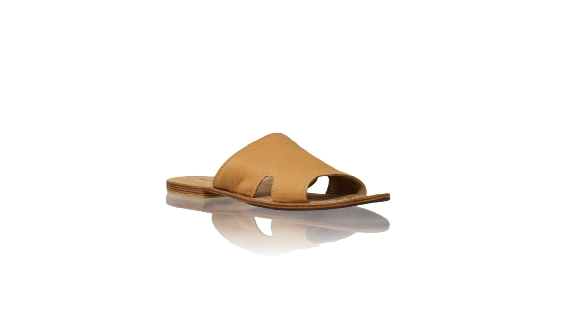 Leather-shoes-Vira 20mm Flat - Nude-sandals flat-NILUH DJELANTIK-NILUH DJELANTIK