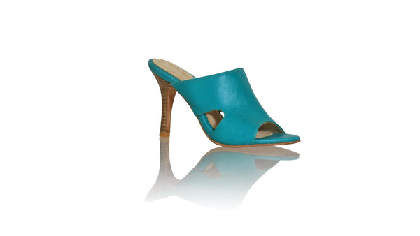 Leather-shoes-Vira 90mm SH- Dark Aqua-sandals higheel-NILUH DJELANTIK-NILUH DJELANTIK