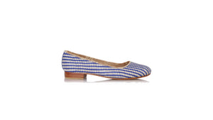 Leather-shoes-Vivi Without Tassel 20mm - Woven Ivory Blue-flats ballet-NILUH DJELANTIK-NILUH DJELANTIK